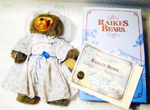 Robert Raikes jointed bear Mrs Melody