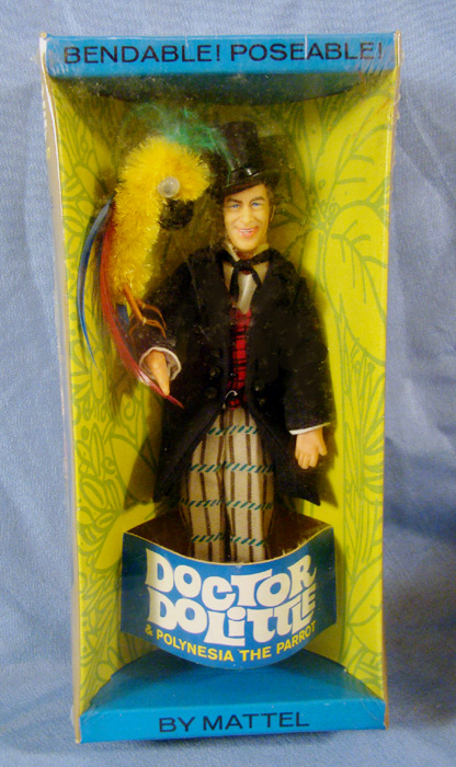 tv movie                           dr dolittle doll with polynesia parrot