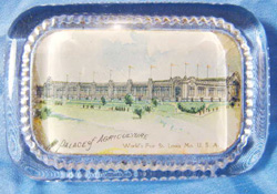 1904 Worlds Fair Agruculture Building                           Paperweight