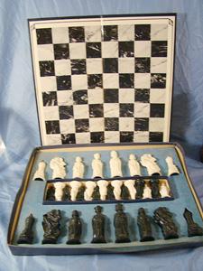 anri lowe renaissance vintage chess                             set