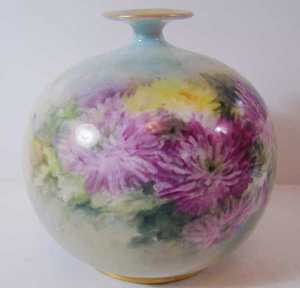 American, belleck willets, era, vase,