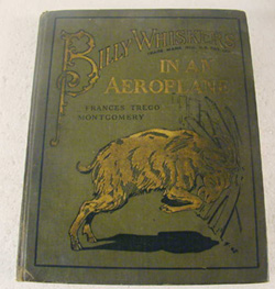 Billy Whiskers, Aeroplane, book,