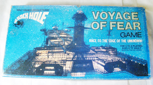 Walt Disney Black Hole Board Game