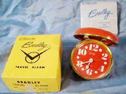 Retro Orange Bradley Alarm Clock