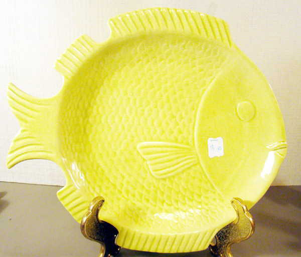 Cermar Retro Fish Serving Tray