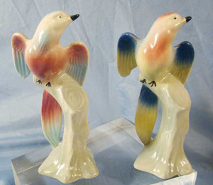 Royal Copley Swallow Bird figurines