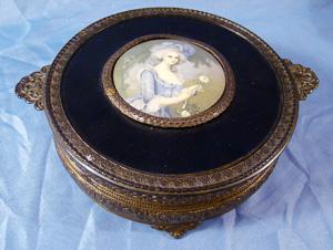 victorian dresser jewelry box case