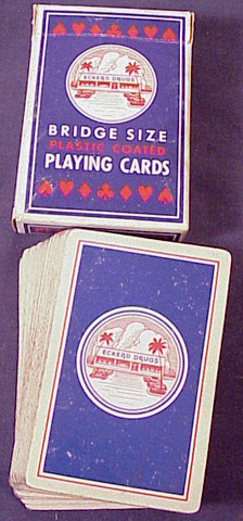 Eckerd Drugs Playing Cards