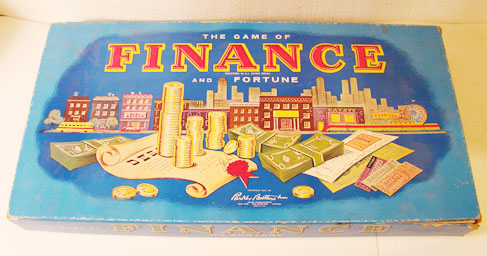 Finance & Fortune Board Game