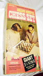 Vintage Giant Chess Set Grand Master