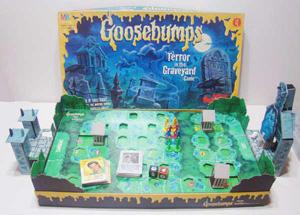 Vintage Milton Bradley Goosebumps Board                             Game