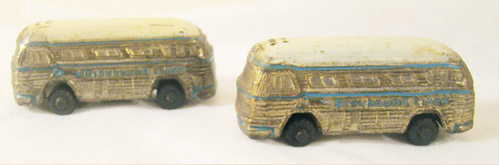 Greyhound Bus Promotional Salt Pepper                           Shakers