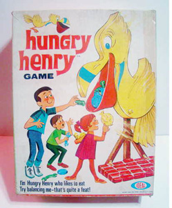 Vintage Action Game Hungry Henry