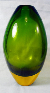 IVR Italy Murano Art Glass Vase