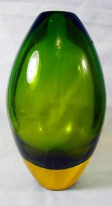 IVR Italy Murano Art Glass Vase