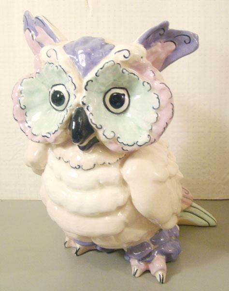 Kay Finch Toot Owl Figurine