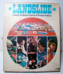 Landslide, board, game, Parker                             Brothers