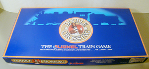 Lionel Double Crossing Board Game