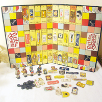 Antique Board Game Little Shoppers