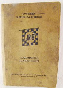1926 Locomobile, manual, reference,                           service, restoration, booklet