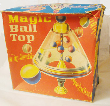Vintage Magic Ball Top Fuchs Germany