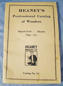 Heaney's Professional magicians magic