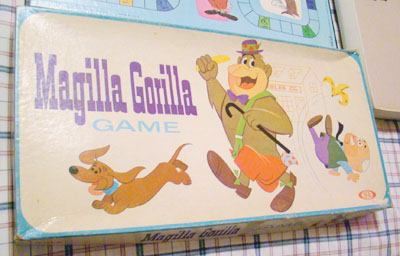 Magilla Gorilla Board Game