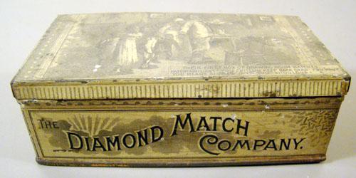 Diamond Matches Black Americana