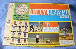 Milton Bradley Vintage baseball 1969                             game