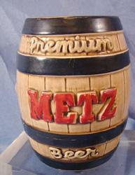 Metz, brewery, beer. bank, ceramic,