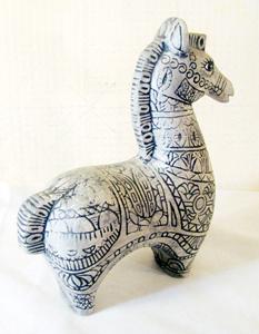 Modernist Horse Figurine