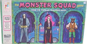 Milton Bradley Monster Squad TV Show                             Board Game