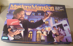 Mystery Mansion Talking Board Game Like