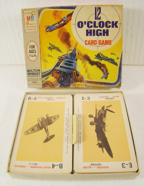 Milton Bradley vintage 1965 12 O-clock