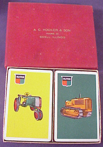 Oliver Farm Tractor Cards