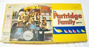 Vintage TV Show Partridge Family Board