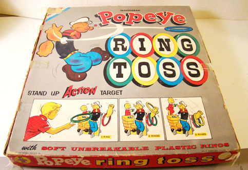 Popeye Ring Toss Game