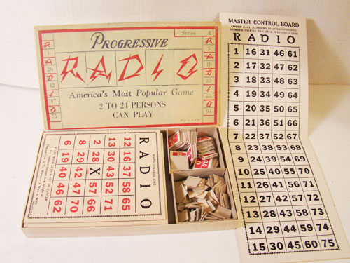 Radio Bingo Game