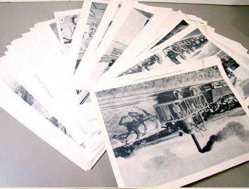 Railroad Picture Set