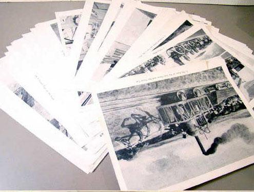 Railroad Picture Set