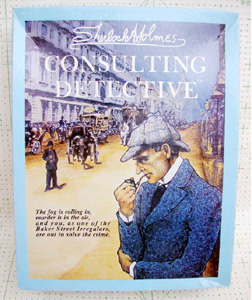 vintage Sherlock Holmes Consulting                             Detective game