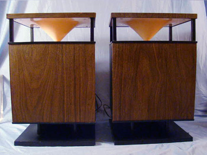 mid century modern circle of sound knoll