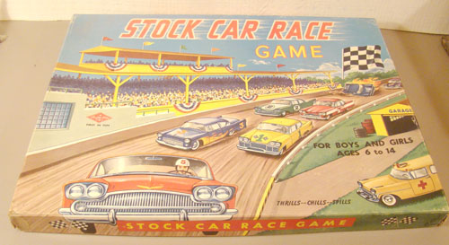 Rare Stock Car Race Game