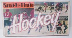 Strat-O-Matic Hockey game