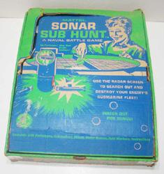 Vintage Mattel Sonar Sub Hunt Game