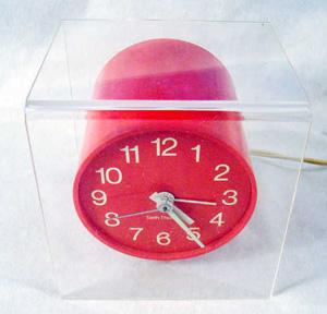 seth thomas suspense alarm clock retro                           50s