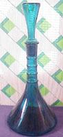 Blenko Tall Bottle w/stopper