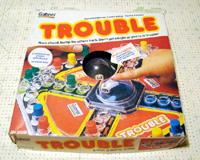 Vintage 1980 Gabriel Trouble Game