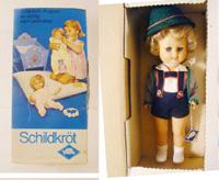 Schildkrot Puppen German Doll