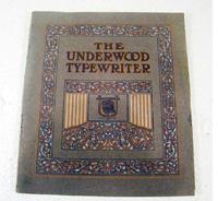underwood, typewriter, catalogue,